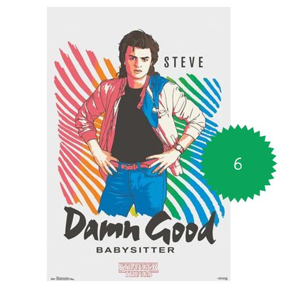 Stranger Things Steve Babysitter Poster.png