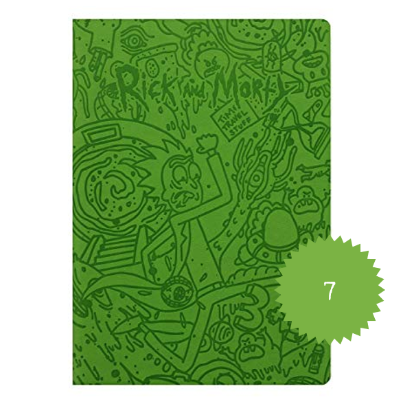 Rick and Morty Portal A5 Notebook.png