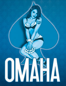 Omaha - A variation on the community card theme, Omaha is played in both hi-lo split and pot-limit varieties. If you've watched Omaha on TV you've seen how exciting Omaha can be. We offer Omaha tournaments and cash games for our customers around the clock. GEGA 2456