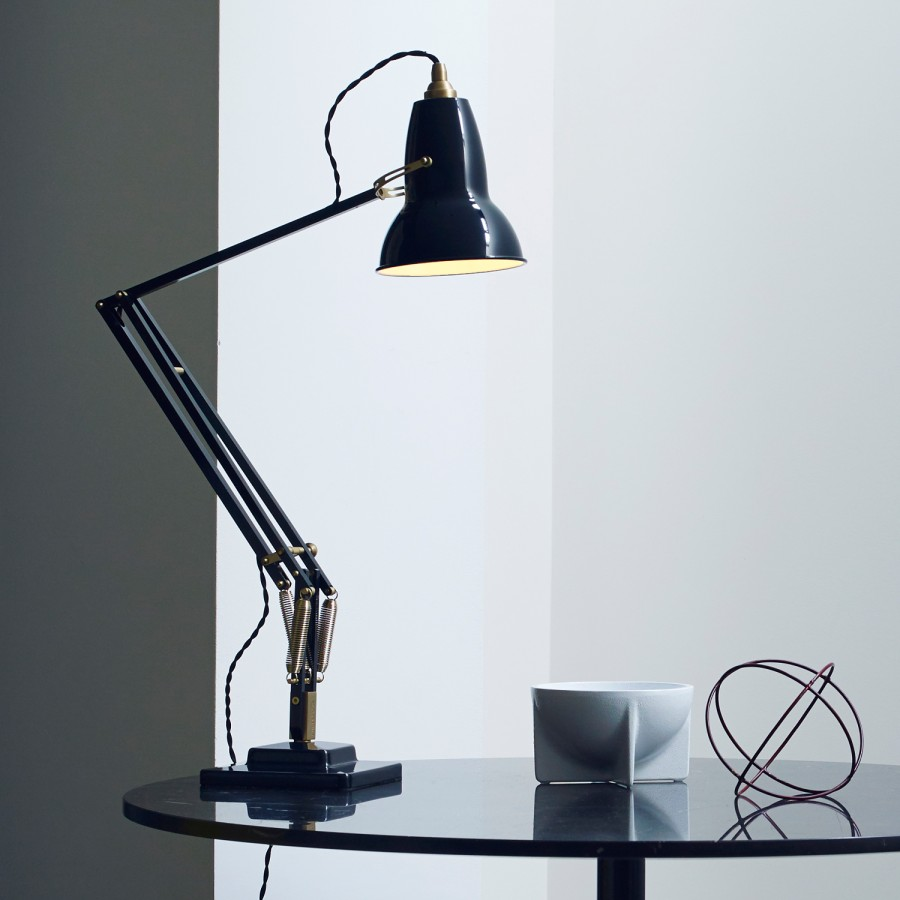 brass anglepoise lamp reproduction furniture
