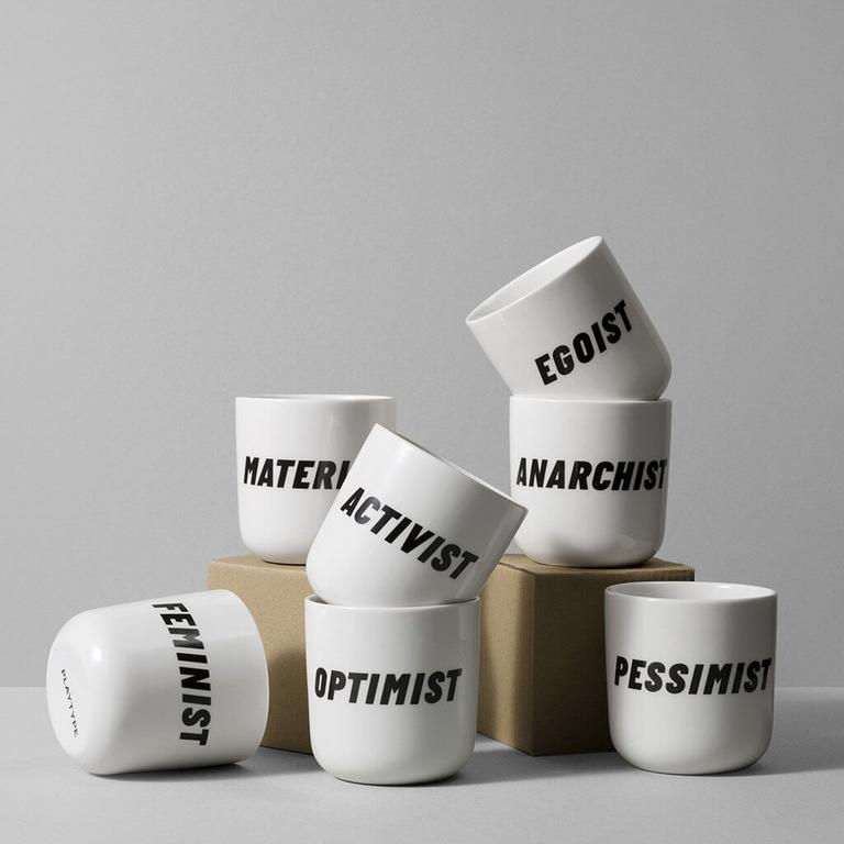 Playtype Attitude Slogan Mug