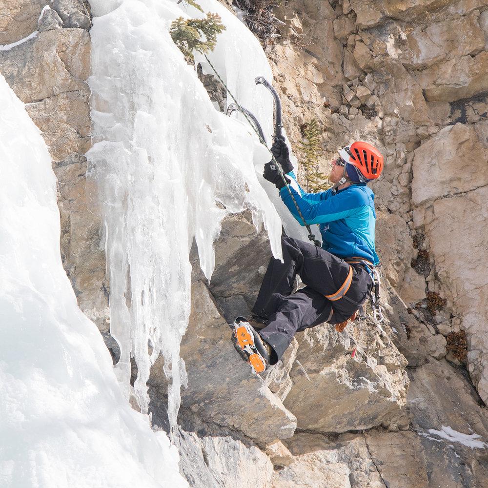 Ryan Titchner at Tangle Falls