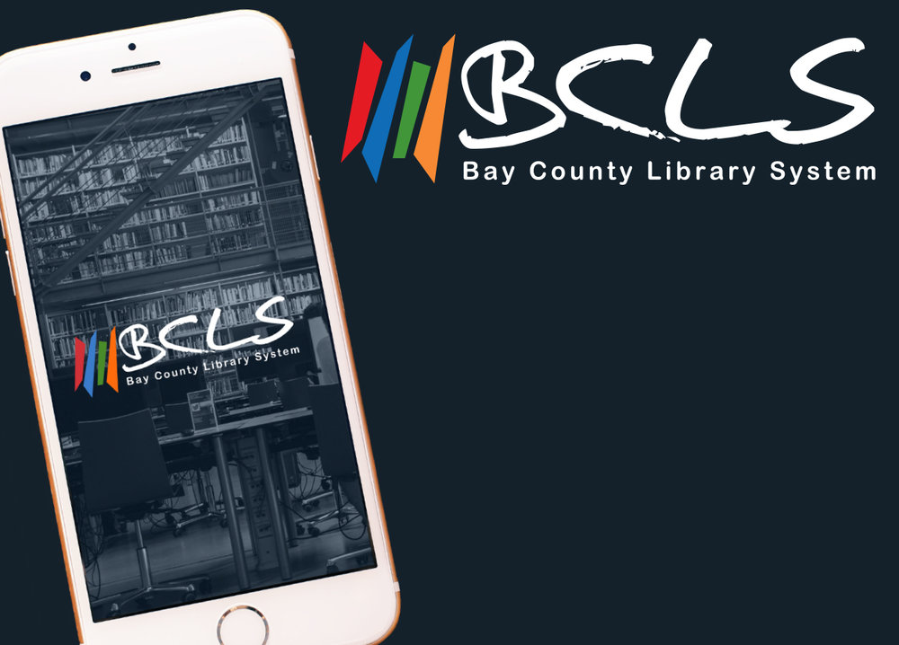 Bay County Library System App Design -