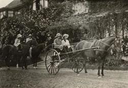 Herbert Elworthy's daughters c. 1920
