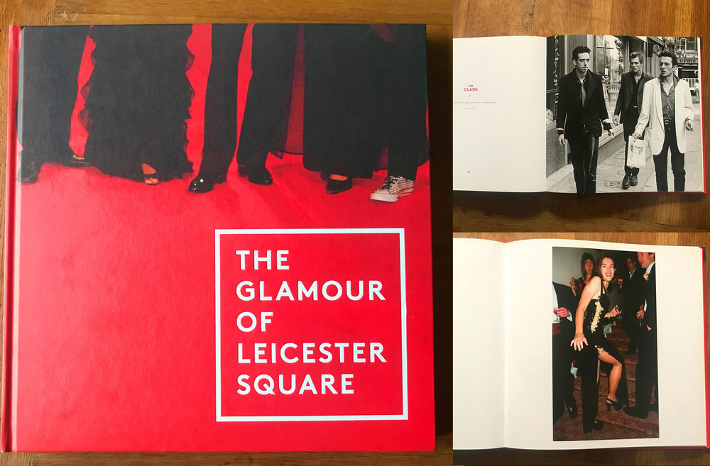 W HOTELS /  A project to place-make and add some glamour to the locale of their main hotel in Leicester Sq. A photography book celebrating the famous faces that have walked the red carpet and been snapped in Leicester Square to celebrate its glamorous history.