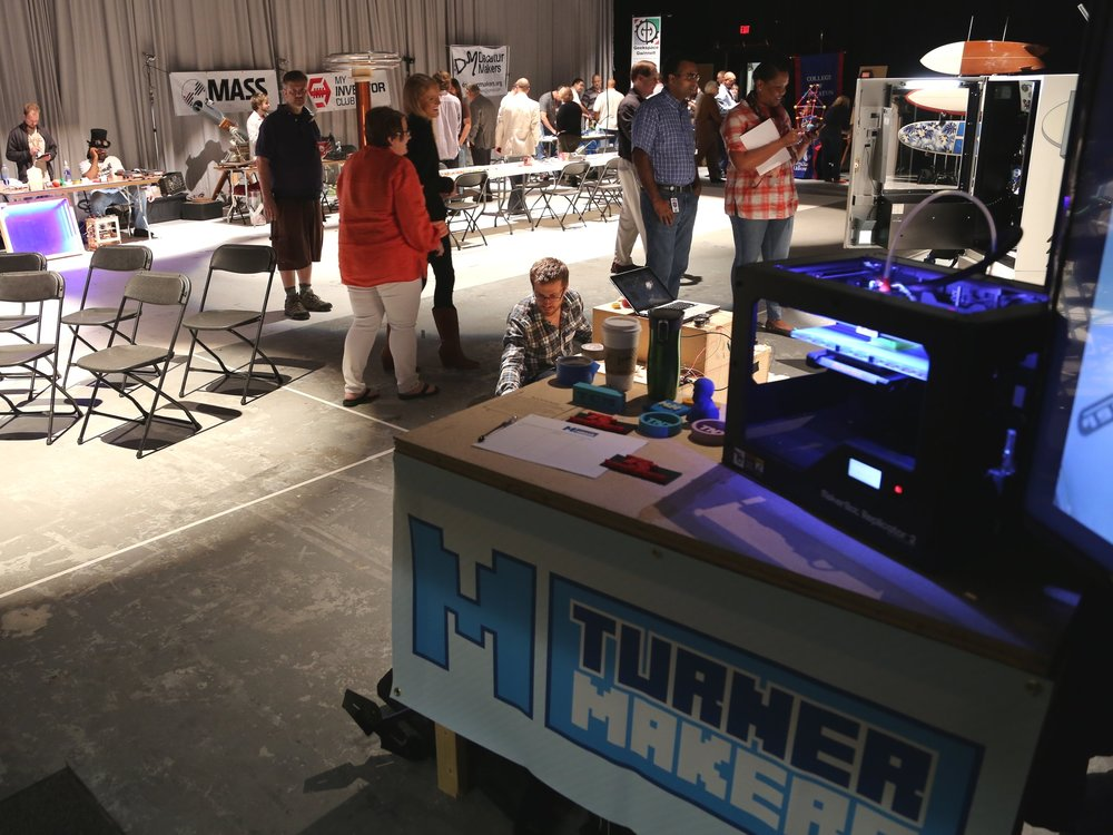Turner Mini-Maker Faire, first-ever faire on corporate property