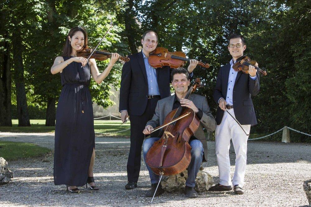 quartet 212 at the chateau de meursault