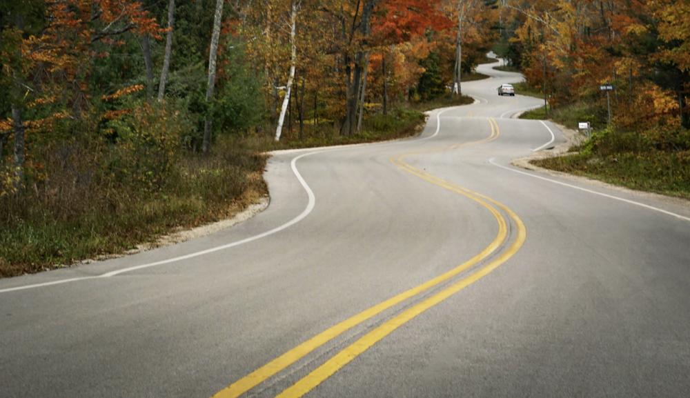 Jens Jensen Road (Autumn) - Door County