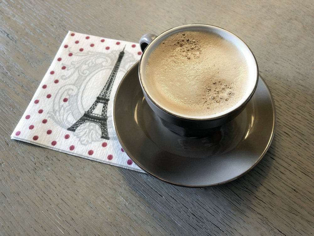 Espresso w/Paris napkin