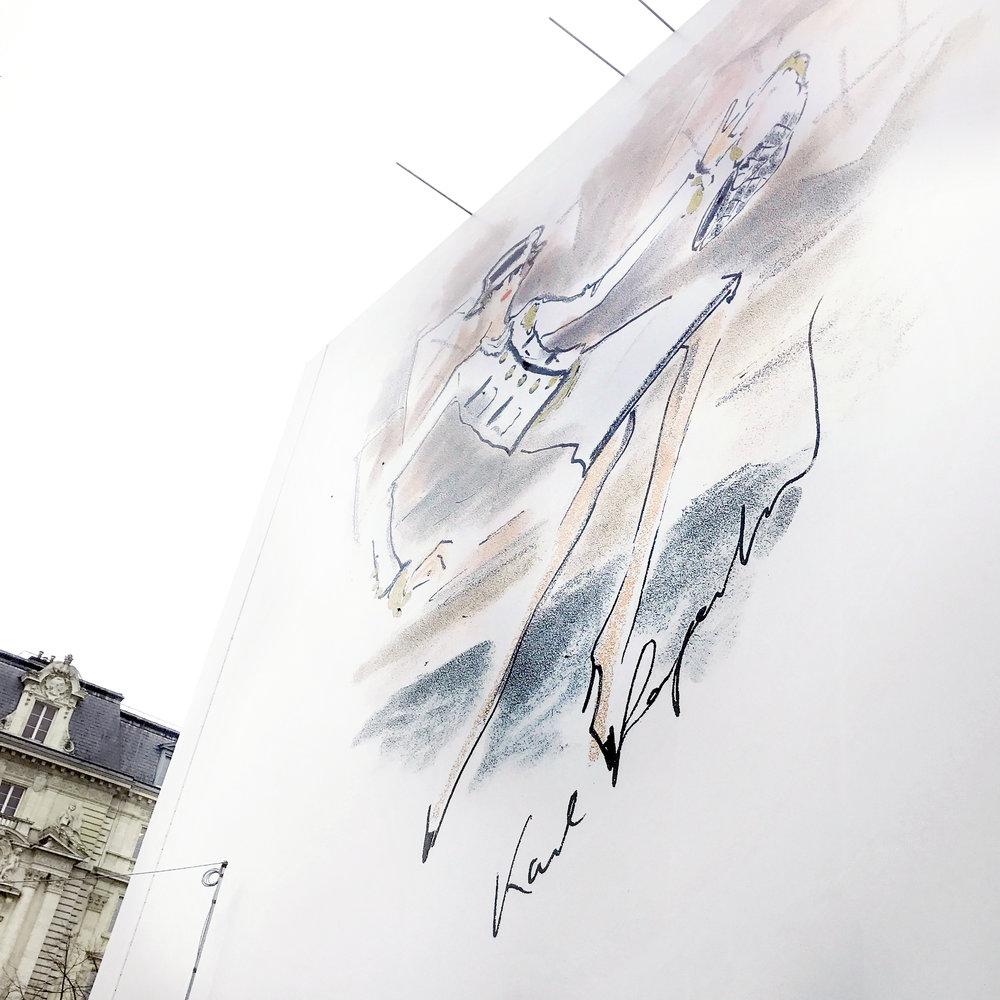 Karl Lagerfeld (10 September 1933 – 19 February 2019)