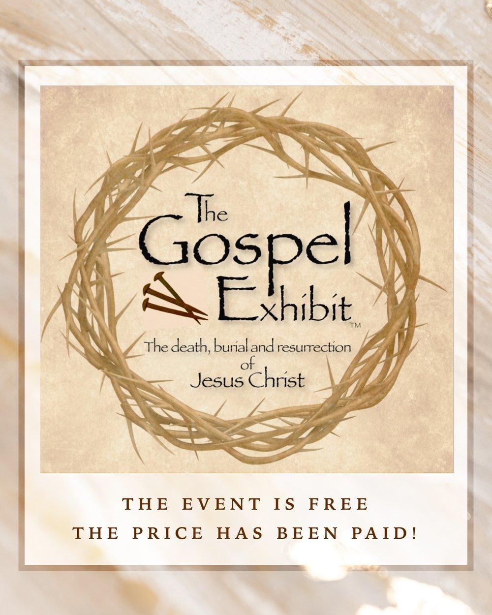 The Gospel Exhibit - The Price Has Been Paid