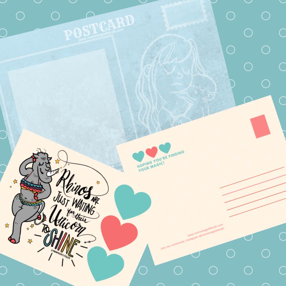 Digital Postcards for Mamas! -