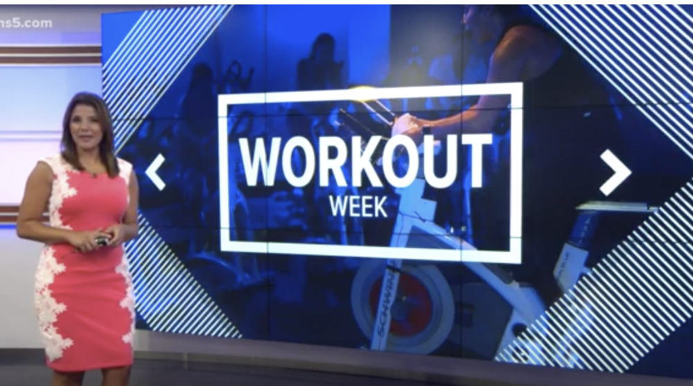 <b>KENS5 TV<br>7.16.18</b><br>Workout Week: JoyRide Cycle Class