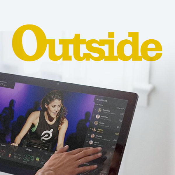 <b>OUTSIDE MAGAZINE<br>7.23.18</b><br>Peloton Is Going Big - or About to Bust