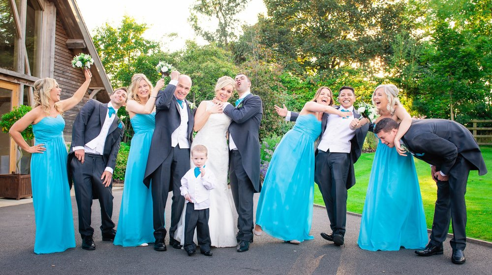Wedding party fun ideas