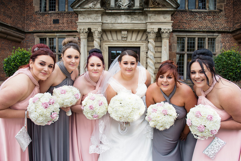 Wedding sister bridal party