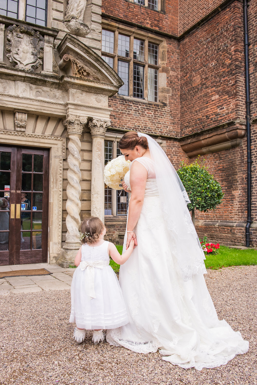 birmingham west midlands wedding photographer bride and daughter