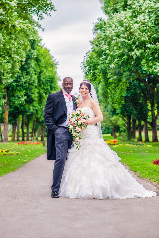 BIRMINGHAM WEDDING PHOTOGRAPHY SOLIHULL BRIDE AND GROOM