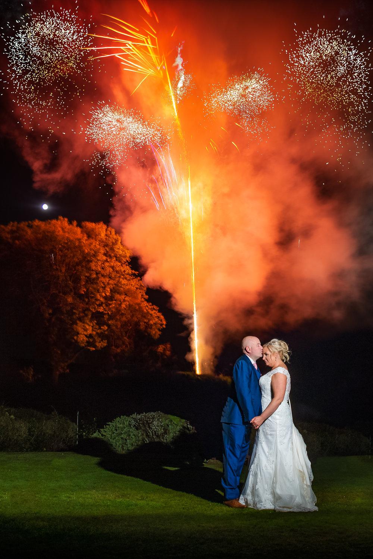 wedding photography fireworks birmingham west midlands