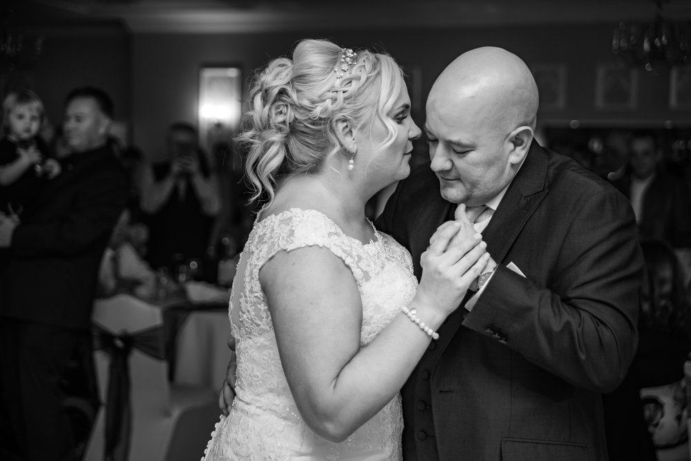 first dance wedding photography dana lewis black and white