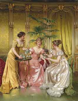 charles-joseph-frederic_soulacroix_afternoon_tea_for_three_d5576209h