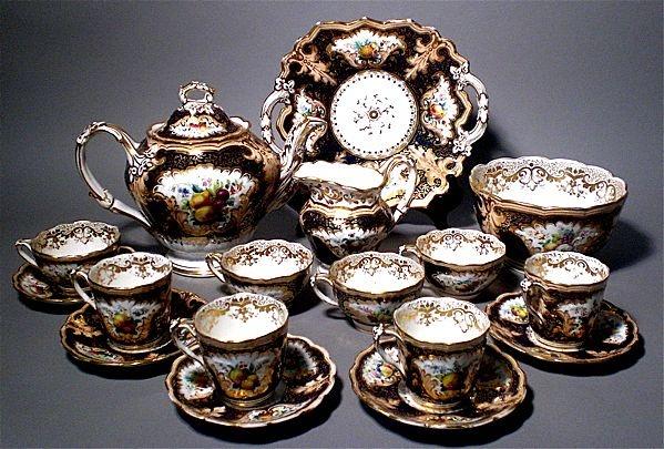 Σετ του τσαγιού Royal Crown Derby, αρχές του 19ου αιώνα