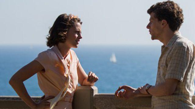Η Kristen Stewart και ο  Jesse Eisenberg στο Café Society