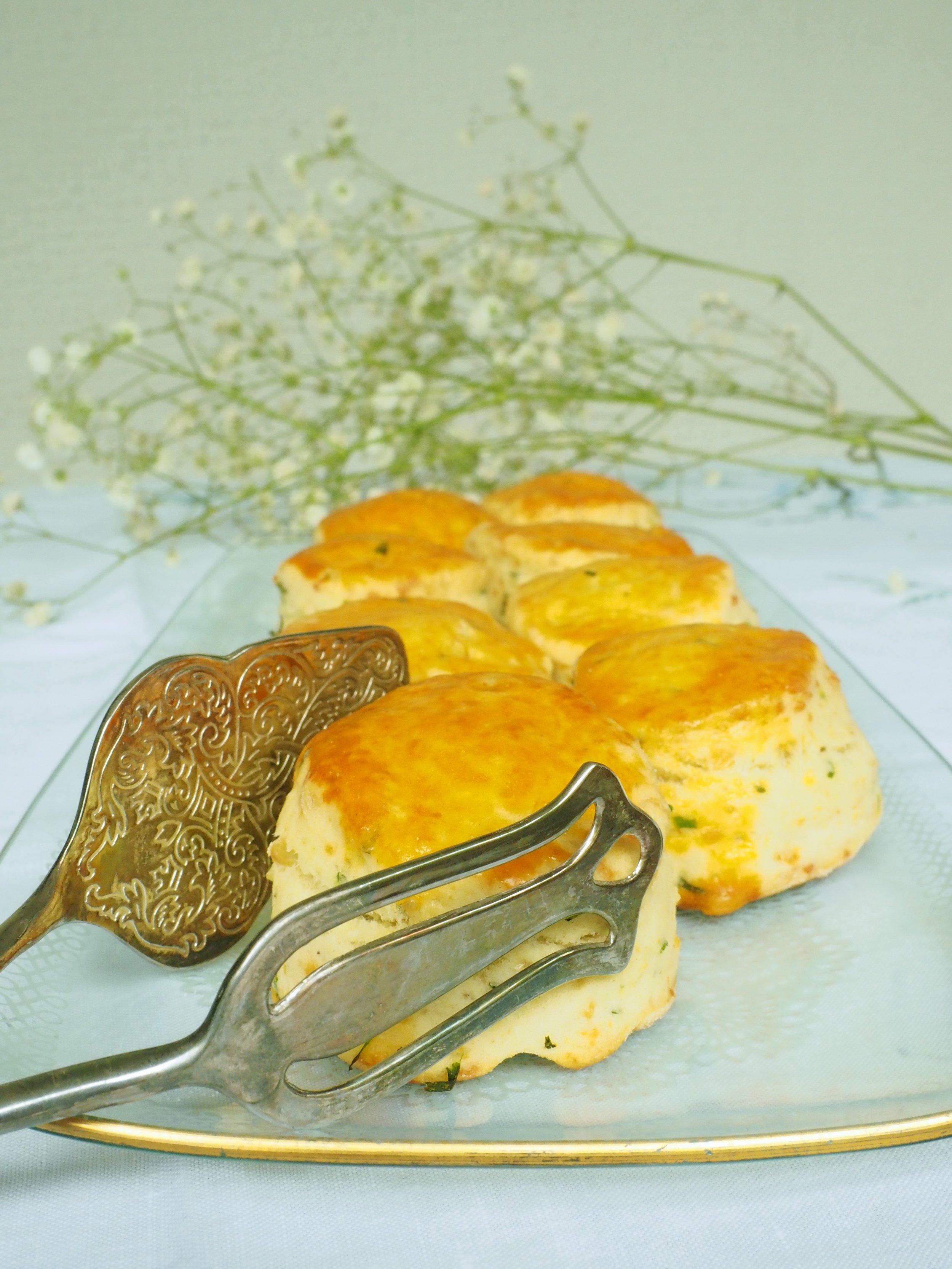 αλμυρά scones