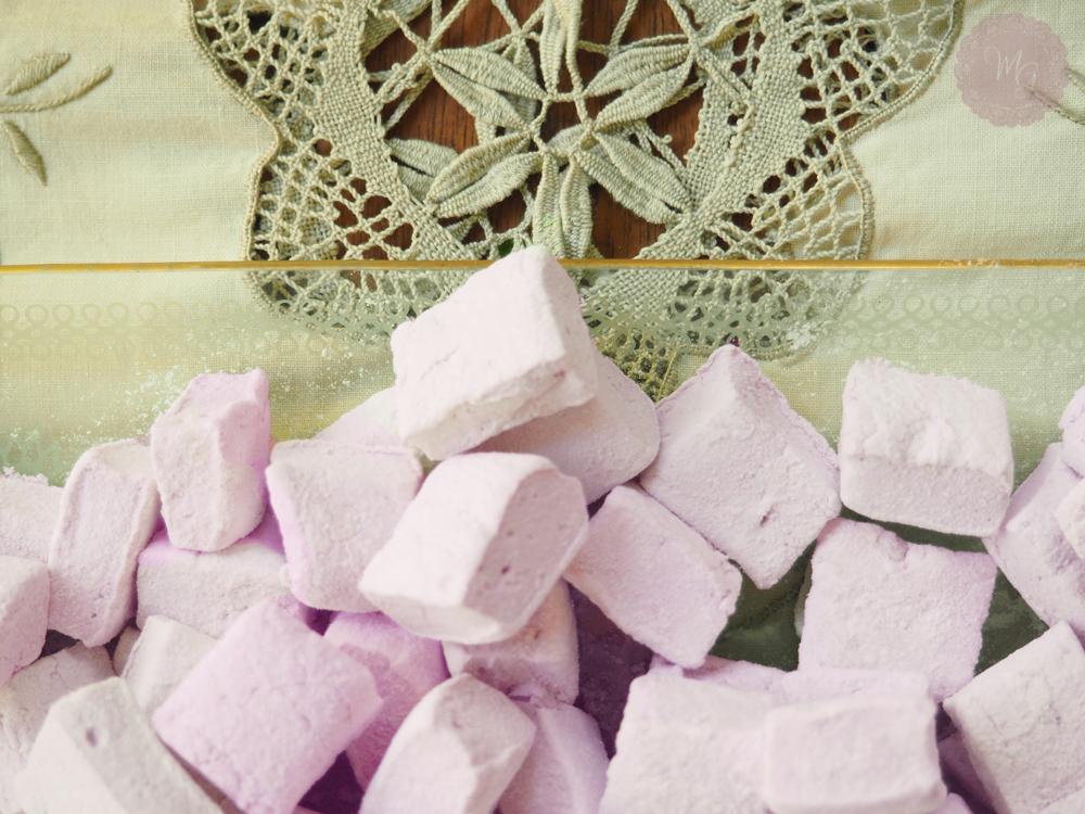 violet marshmallows