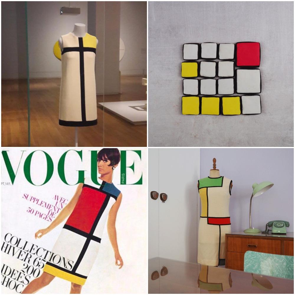 d4bd6a96e86c To φόρεμα Mondrian του Yves Saint-Laurent και πώς να φτιάξετε  μπισκότα-Mondrian! — Madame Gâteaux