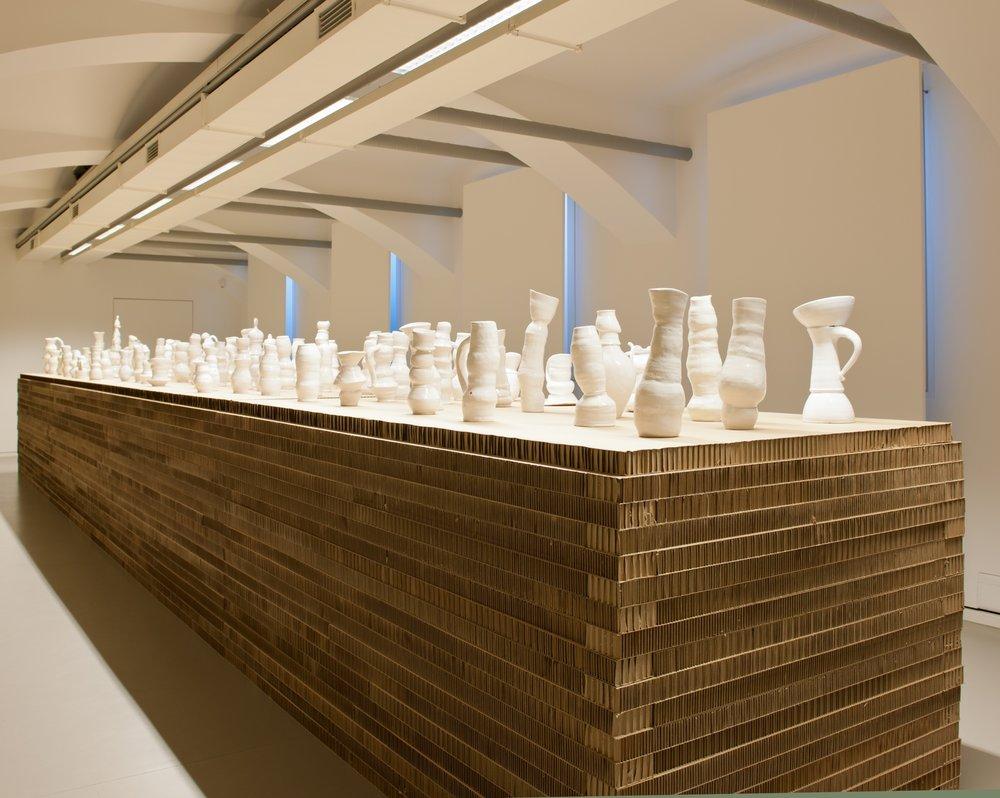 Exhibition view Forum am Schillerplatz Vienna,  2012