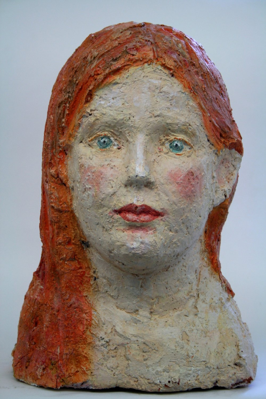 Cecilia Seilern und Aspang  2000 Clay, acryl painted