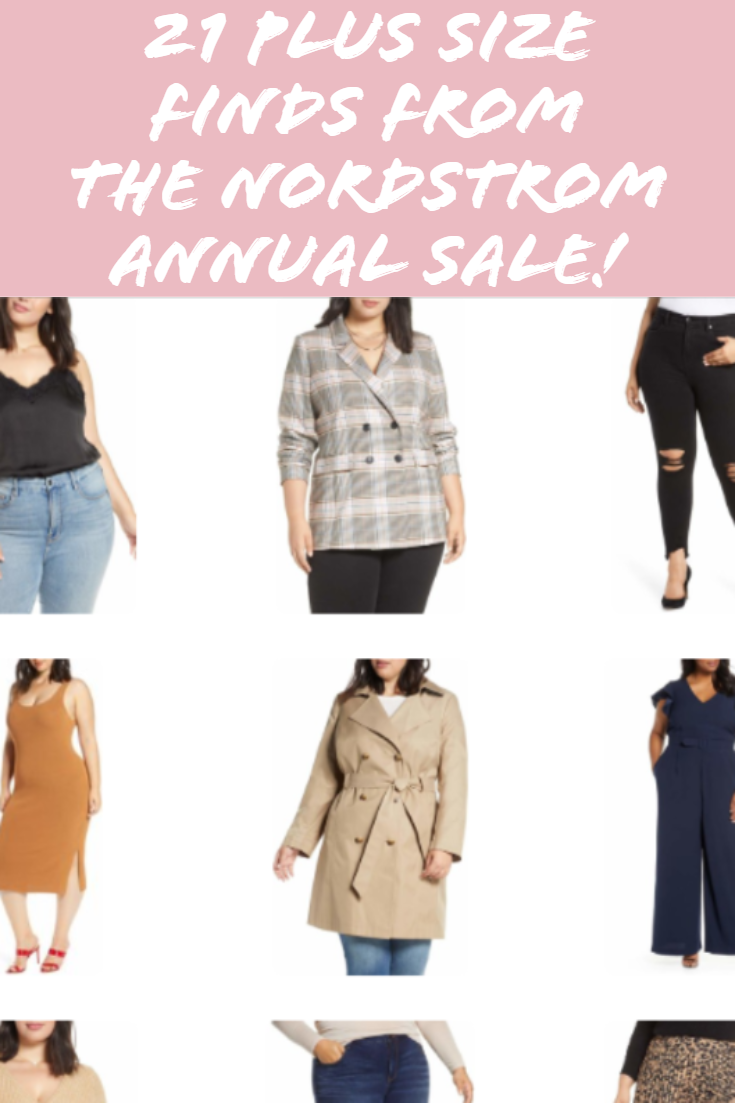 Nordstrom Annual Sale Plus Size