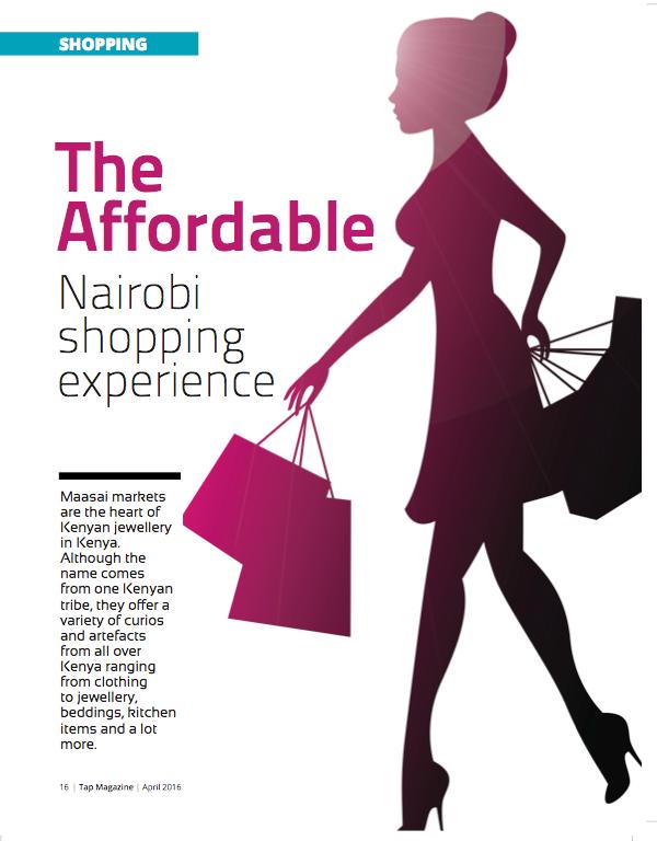 nairobi shopping experience