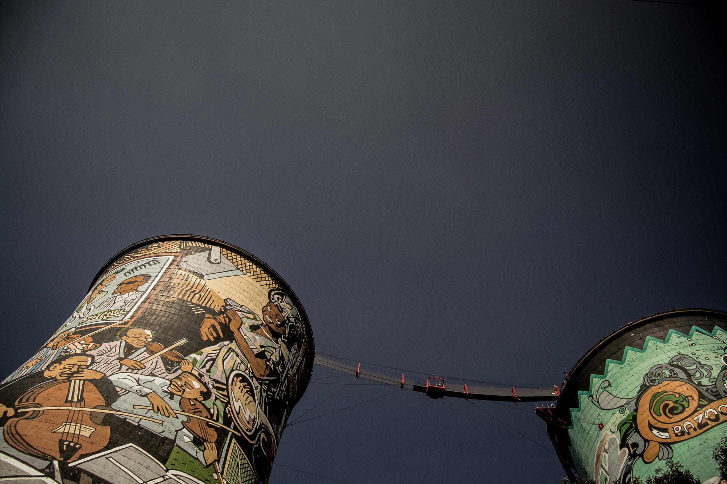 Joburg Night Life - Soweto Towers