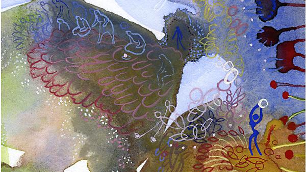Leigh Toldi , Dance of Spring Rains, Detail