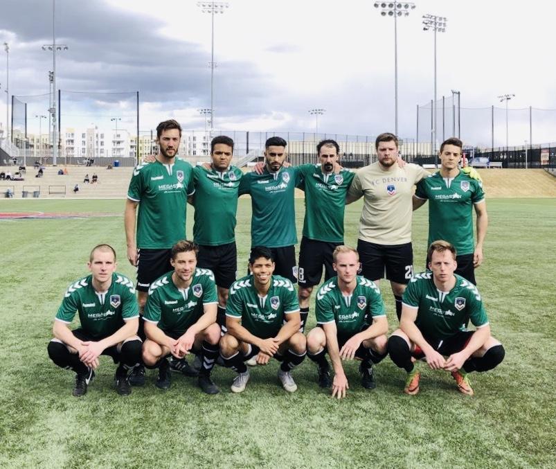 FC Denver starting 11 vs Harpos FC