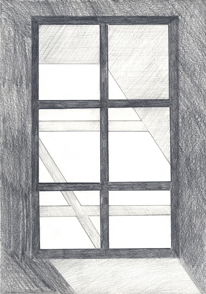 """New Paltz  Graphite on paper 9.5x13"""""""