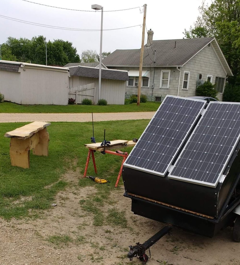 Purchase your Custom-Built Solar-Powered Generator Today!