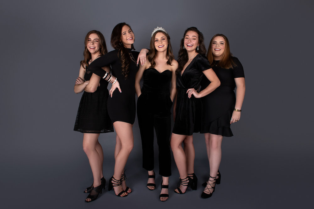 Wheelersburg Homecoming Queen and court