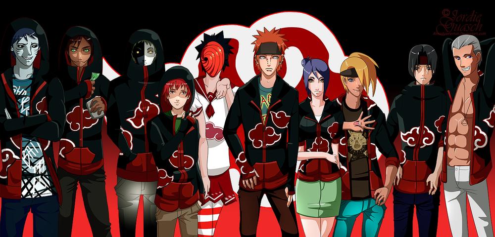 Naruto Fanart, digital, 2009