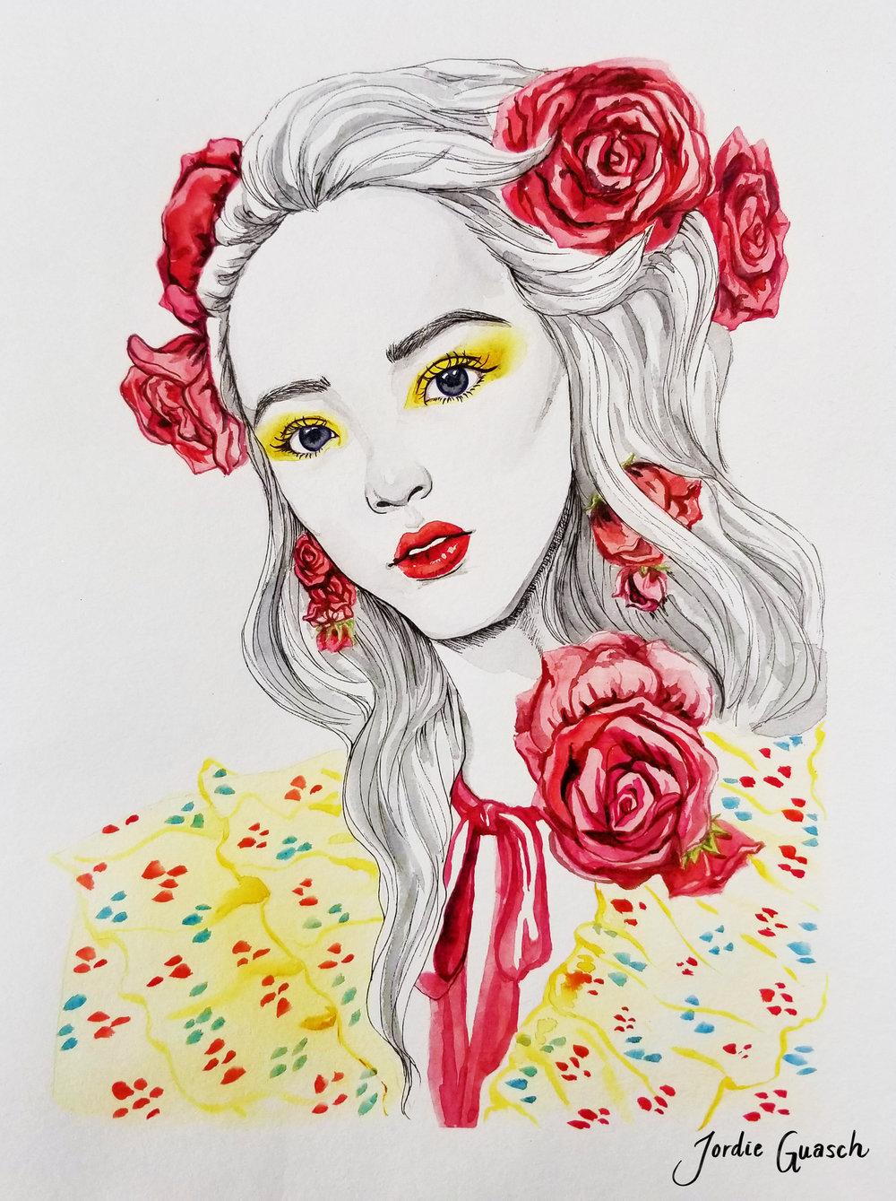 4. Rodarte, Watercolors