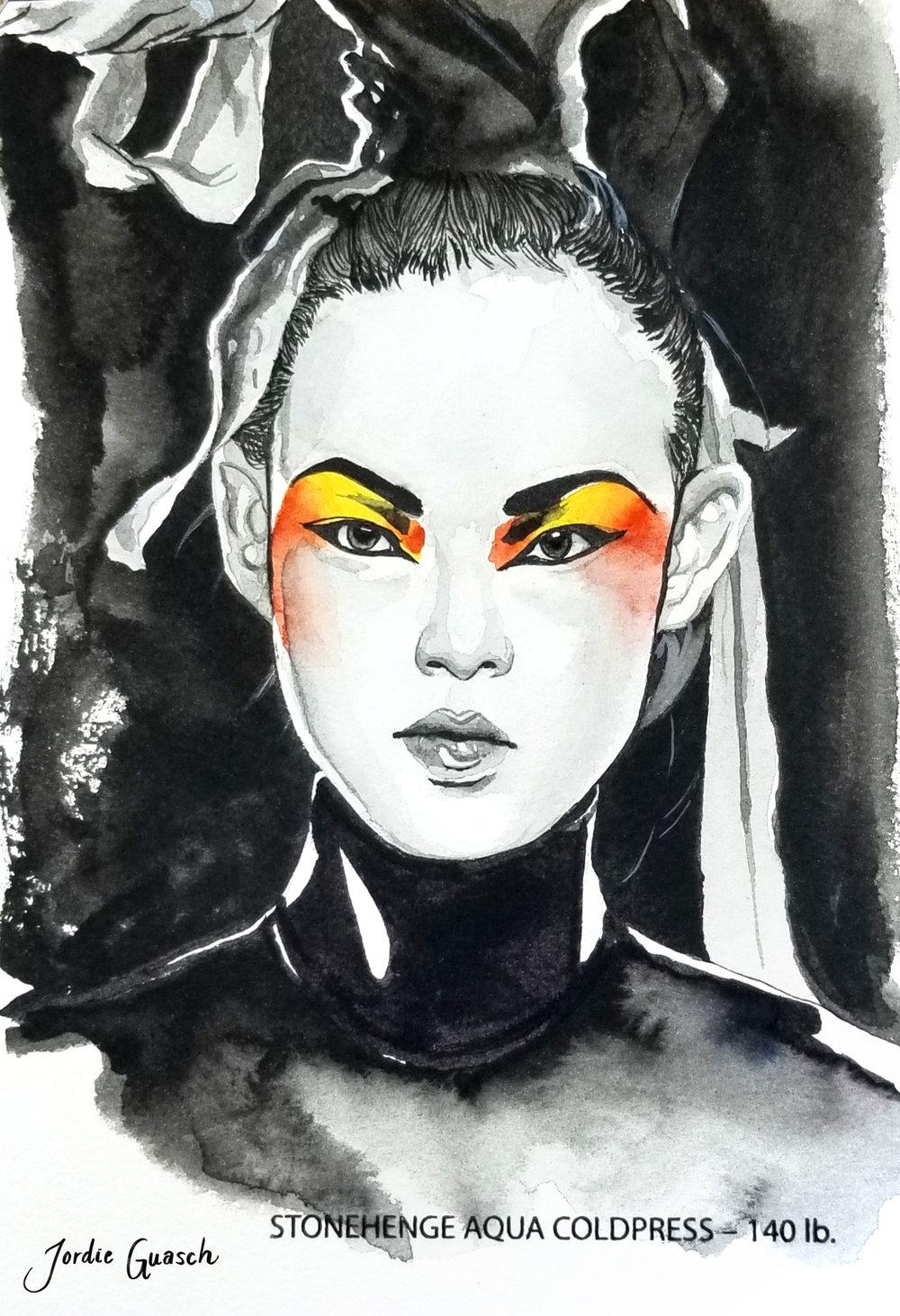5. Gareth Pugh, Watercolors