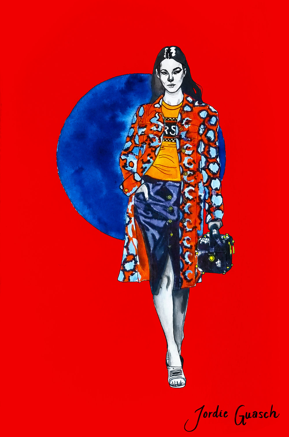 8. Versace, Watercolors