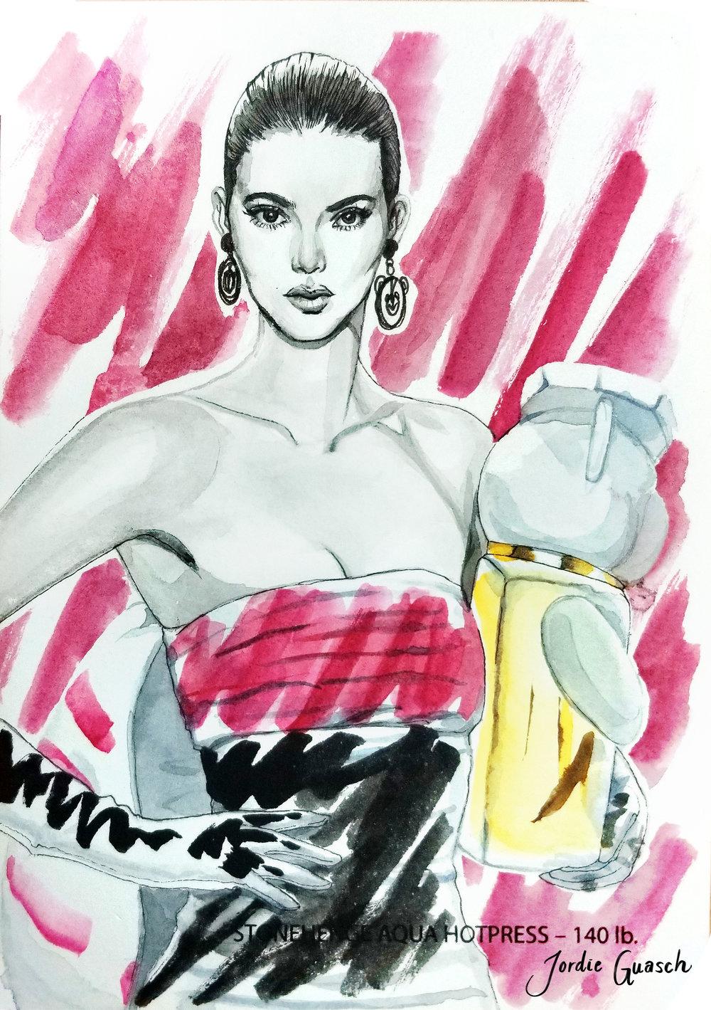 6. Moschino, Watercolors