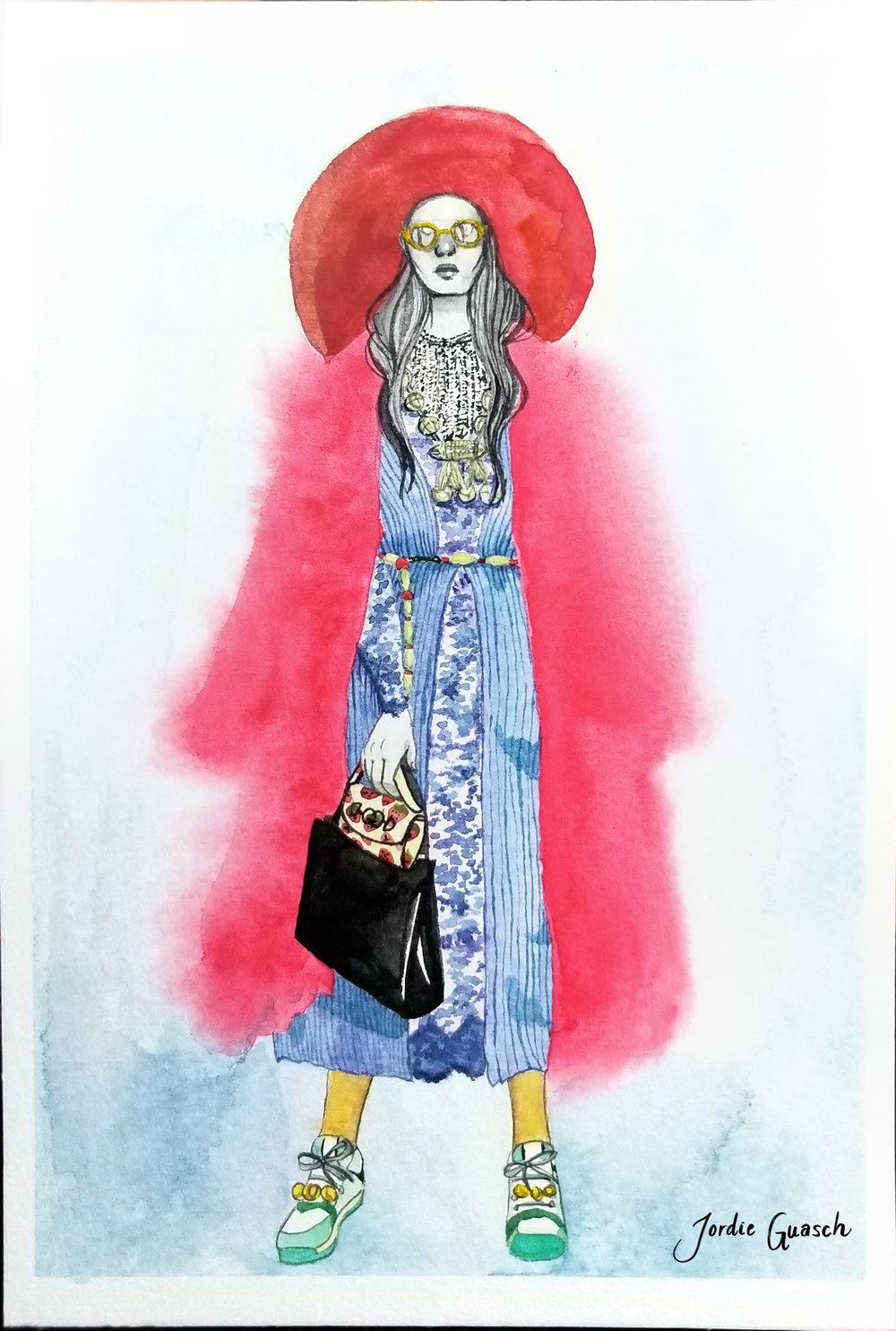 10. Gucci, Watercolors