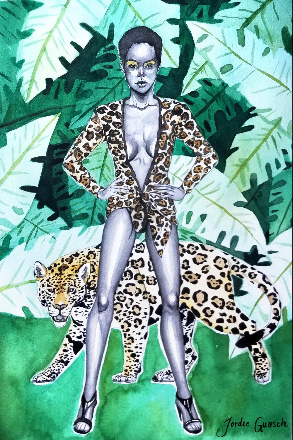 11. Saint Laurent, Watercolors
