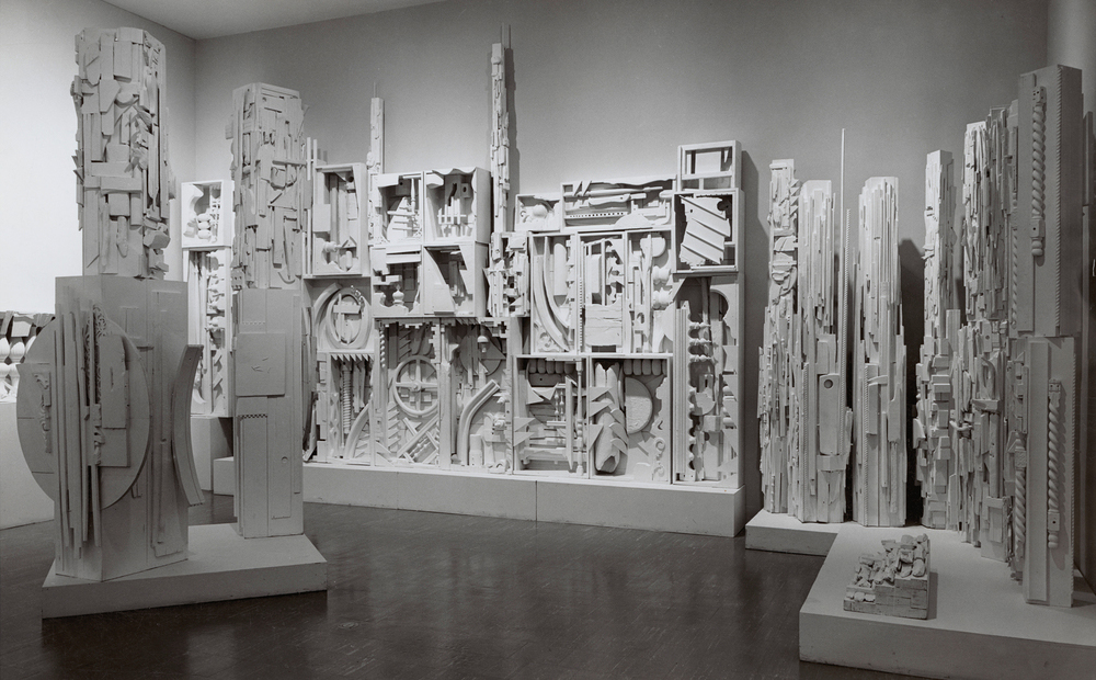 Louise Nevelson,  Dawn's Wedding Feast  (1959).