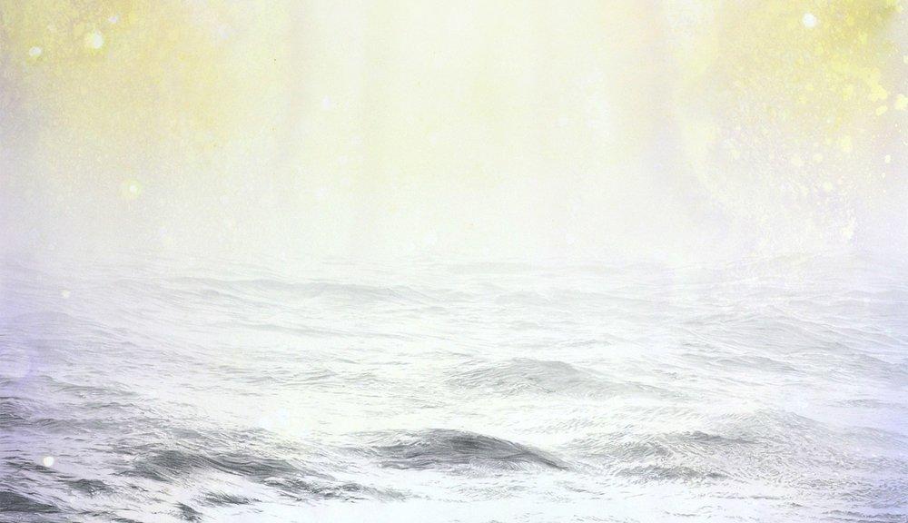 Joseph Smolinski,  Open Water 16 , detail. Image courtesy of the artist.