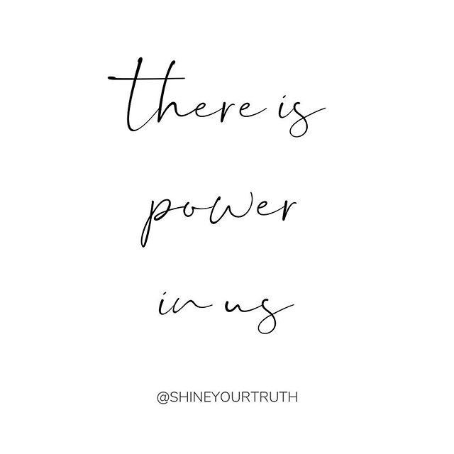 There is power in community. There is power in energy. There is power in love. There is power in truth. ⠀⠀⠀⠀⠀⠀⠀⠀⠀ There is power in me and there is power in you. ✨ ⠀⠀⠀⠀⠀⠀⠀⠀⠀ Let that soak in. There is power in the things that matter - especially in you 💕 ⠀⠀⠀⠀⠀⠀⠀⠀⠀ xo, Jess ⠀⠀⠀⠀⠀⠀⠀⠀⠀ P.S. If you ever want a reminder that you are powerful, we would LOVE to welcome you into the Shine Your Truth Community. Link in bio 💕 . . . . . #shineyourtruth #jessgaraysoulcoach #soulcoach #thatsdarling #businesscoaching #womeninbuisness #womenempoweringwomen #communityovercompetition #youarepowerful #bebrave #bloomyellow #beyourownlight #flashesofdelight #risingtidesociety #calledtobecreative #thehappynow #keepmoving#femaleboss #slayallday #bizbabe #soulpreneur #womeninspiringwomen #abundance #personaldevelopment #spiritjunkie